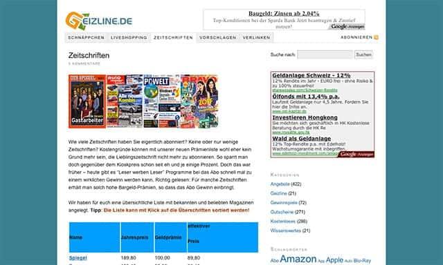 geizline.de